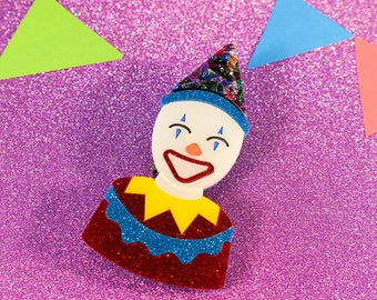 Ekka Smiling Clown - Layered Laser Cut Acrylic