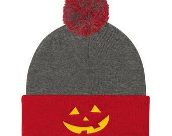 maga pumpkin Pom Pom Knit Cap