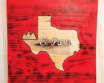 We Love El Paso Wall Decor