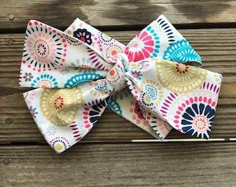 Color Burst Headwrap