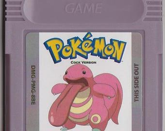 Gameboy Game boy Color GBC Pokemon Customized