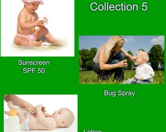 Natural Baby skincare collection