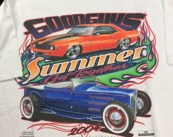 Vintage 2004 Goodguys Rod & Custom Pleasanton Get Together T-shirt