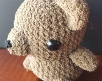 Chibi Brown Bear Amigurumi