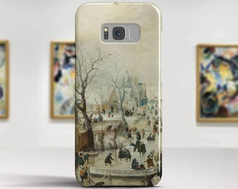 "Hendrick Avercamp, ""Landscape with Iceskaters"". Samsung Galaxy S8 Case LG V30 case Google Pixel Case Galaxy J7 2017 Case and more."
