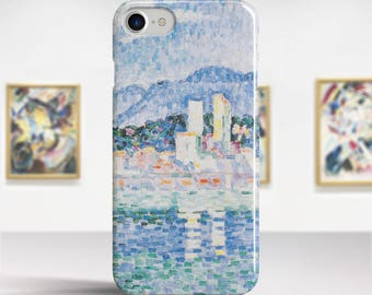 "Paul Signac, ""Antibes, Thunderstorms"". iPhone 7 Case Art iPhone 6 Case iPhone 8 Plus Case and more. iPhone 7 TOUGH cases. Art iphone cases."