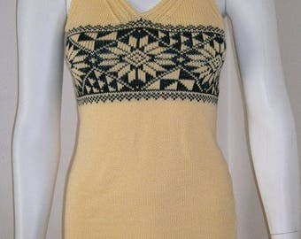 Summer dress knit dress