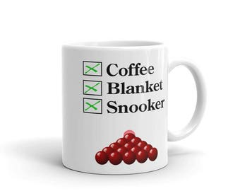 Coffee, Blanket, Snooker Mug