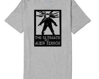 The Thing Alien Terror Unisex T Shirt Many Sizes Colors Custom Horror Halloween Merch Massacre