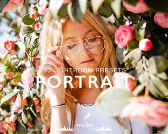 Best Portrait Pack 40 Beautiful Portrait Lightroom Presets for Professional Editing Results in Adobe Lightroom