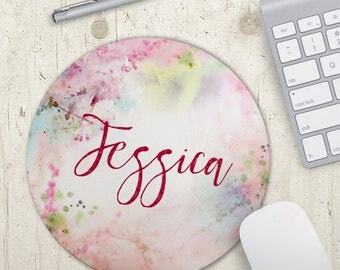 Personalized Mousepad - Graduation Gift - Artist Mouse Mat