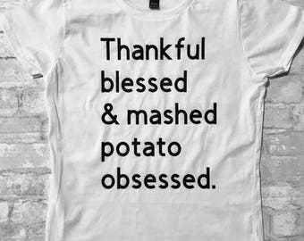 Mashed potato obsessed (adult)