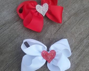Valentine's Day Bow