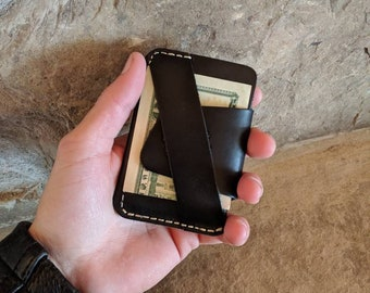 The Wraptor, front pocket wallet, handmade wallet, wallet, leather wallet, leather wallet men, leather wallet slim, minimalist wallet, gift