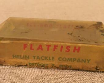 Helin Fly Rod Flat Fish Box, F6SAS, Fishing, Collectible