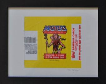 Vintage 1984 Artwork:  Masters of the Universe (Sorceress)