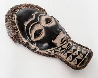 Mask with headdress Congo rope