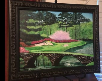 """SOLD- Commissioned """"Amen Corner"""" Painting"""
