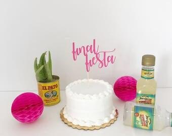 Final Fiesta - Cake Topper