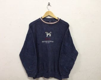 90's Polo British Country Sweatshirt