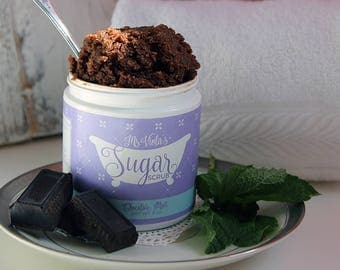 Chocolate Mint Sugar Scrub
