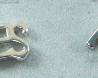 Yes & No Sterling Silver Stud earrings