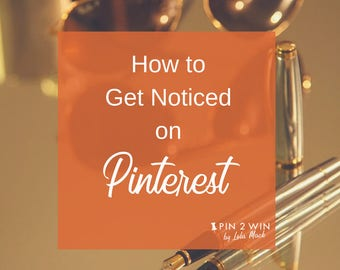 Small Business Marketing Pack for Promoting on Pinterest, Step by Step How to Use Pinterest to Get More Traffic, PDF Printable Guide   P16