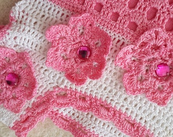 dress for girl, knitted dress, knitting, festive clothing,  little dress,