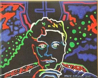 "8"" x 10"", Custom, Neon, Colorful, Portrait"