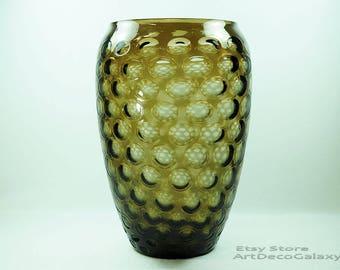 Seguso Exceptional Vintage Italian Glass Vase