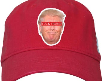 F**k Trump Printed Baseball Cap Donald Trump Fashion Hat Tumblr Pintrest Trends