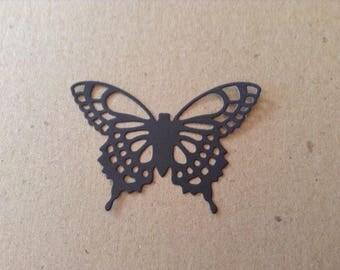 Fancy Butterfly (3) die cut embellishment