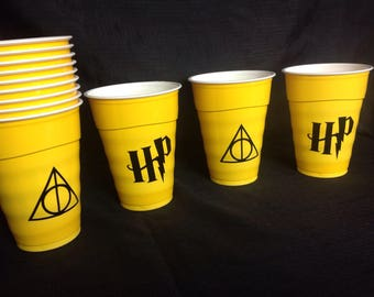 Harry Potter party cups. Set of 12.