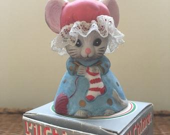 Vintage Mouse Ornament