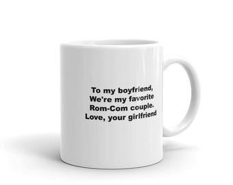 Boyfriend Rom-Com - Valentine, Birthday, Anniversary Gift Mug