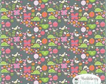 Flutter & Float, Flitter Flutter Grey, Ana Davis, Blend Fabrics, , Quilting Fabric, Cotton Fabric, Yardage