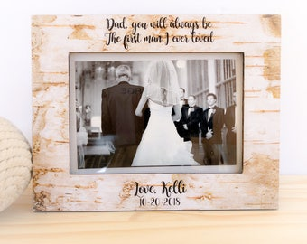 Of All Walks we've TakenFrame Father of the bride. Bridal shower gift. Father of the bride frame. Thank you picture frame for father of the