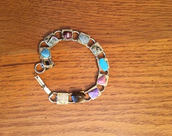 Precious stones bracelet