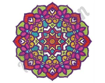 Floral Mandala - Machine Embroidery Design