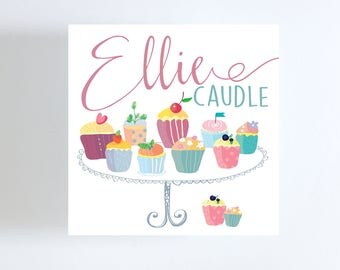 Cupcake Gift Tag // Calling Card // Birthday