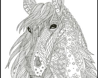 2 Printable Coloring Page For Adults And Kids