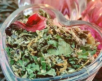 Support After Miscarriage Blend | Organic Vaginal Yoni Steam Herbs | Womb Wisdom | Temple Priestess Blessed | International Shipping