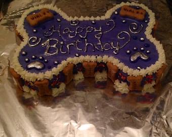 Dog Cake 4 Happy Birthday Puppy Cake Serves about 4