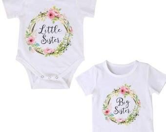 Big sister Little sister shirts