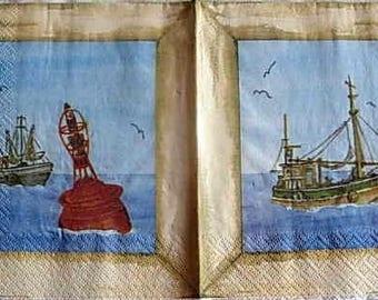 Whaling paper towel