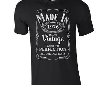 40th birthday Mens / Womens T-shirt High Quality Fashion Style Hand Crafted Apparel Bulk Orders Discounts !