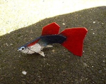 Decorative felt fish