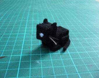 Black Cat, miniature, decorative