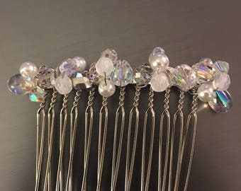 Sparkling Icicles hair comb