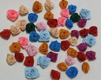 50 roses, quilling, scrapbooking, manual work